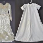 The original Wedding dress and heirloom robe