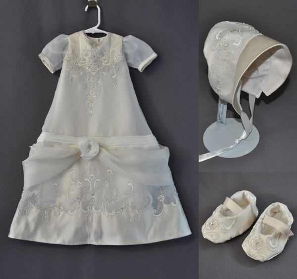 wedding dress conversion christening gown