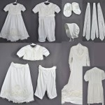 Marilee Scheid, her sister and mother wanted a modular outfit that would work for both a boy and girl. We created a bodice with snaps that allow for a detachable skirt and romper pants.