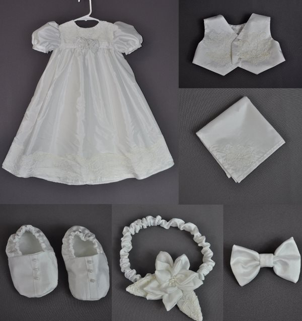 Photo gallery of custom christening outfits fairy godmother