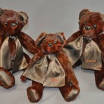 Kali Lopez sent her grandmother's coat to have bears made for her daughter and niece.