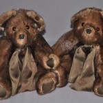 Here is a small photo album of some more of the memory bears we made in November and December. We worked with just about every kind of fabric and fur known to mankind I think