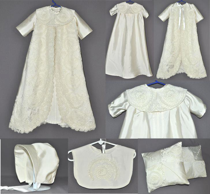 000e0ee9ad12 Vicki sent her daughter's wedding dress to have an outfit made for her  granddaughter's baptism.
