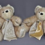 Two Fluffy Memory Bears from Mom's Furs