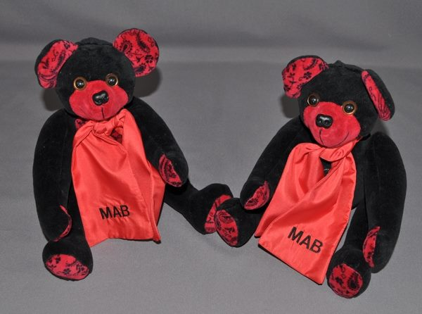 Two Adorable Memory Bears for Two Sisters
