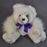 Grandmother's Fox Fur Coat Recycled Into Memory Bear for Granddaughter