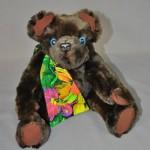 Beaver Fur Stole Converted to Treasured Memory Bear