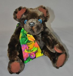 Beaver Fur Stole Converted to Treasured Memory Bear