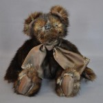 Old Fur Stole Converted to Sweet Memory Bear