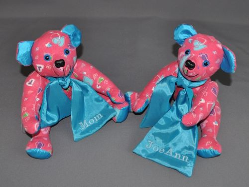 A Pair of Bears for Mom and Sister